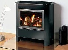 Gazco Medium Steel Manhattan Balanced Flue
