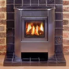 Gazco Small Steel Manhattan Balanced Flue